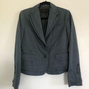 BCBG MAXAZRIA Gray Blazer. Size S